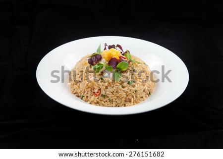 fried rice - stock photo