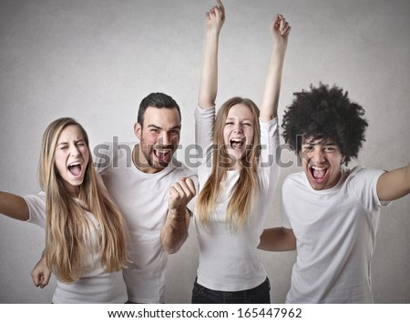 Friendly Success - stock photo