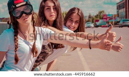 friends holding