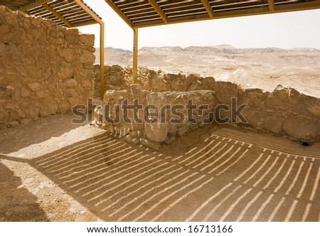 From Masada - stock photo