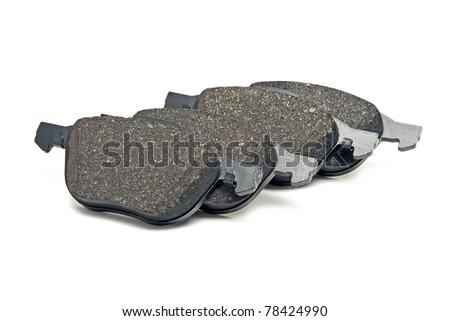front brake pads kit - stock photo