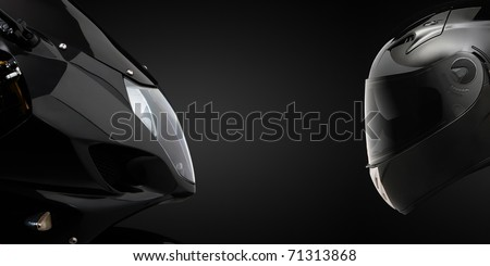 Front hull and helmet - stock photo