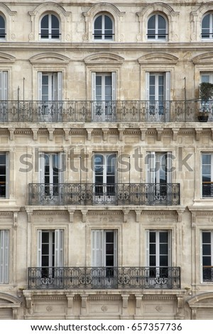 Apartment Building Front old building facade front view berlin stock photo 584274781