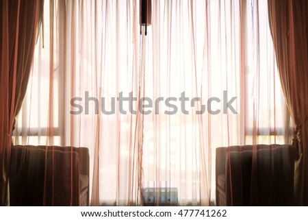Pink Curtains Stock Photos, Royalty-Free Images & Vectors ...