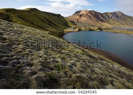 Frostastadavatn - Iceland - stock photo