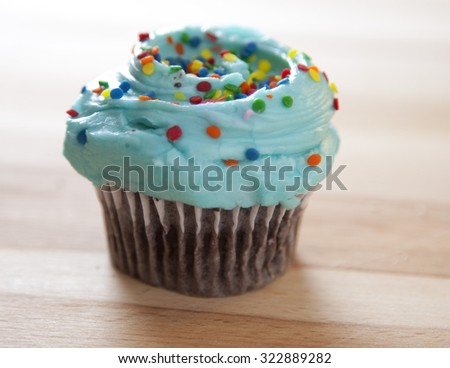 Frosted cupcake desserts