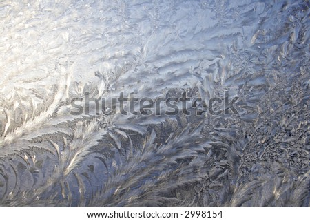 frosted window background texture - stock photo