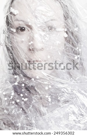 Frozen - stock photo
