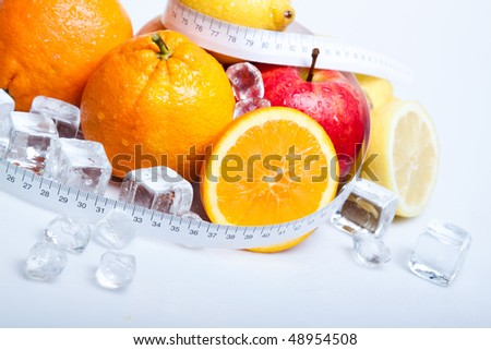 Frozen diet, fruits