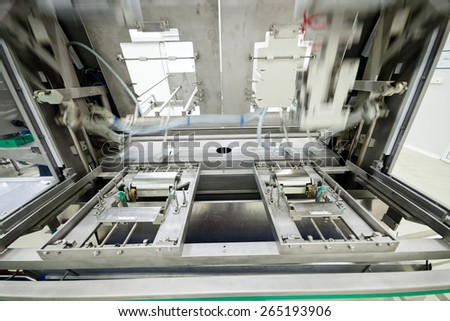 frozen food packing and sorting industry equipment
