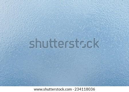 Frozen Glass - stock photo