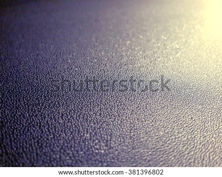 Frozen ice crystals in the night/Frozen ice crystals in the night/Frozen ice crystals in the night - stock photo