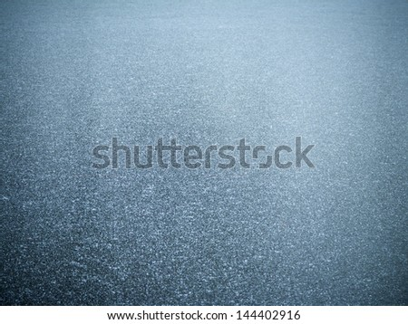 Frozen lake for background or texture - stock photo