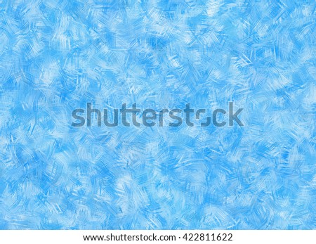 Frozen window glass. winter texture - stock photo