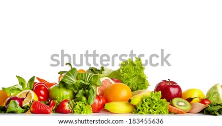 Fruit and vegetable borders
