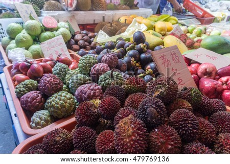 Fruit at local market