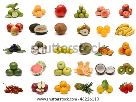 Fruit collection.