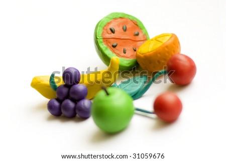fruit composition 2 - stock photo