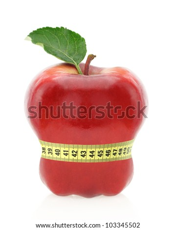 Fruit diet concept - stock photo