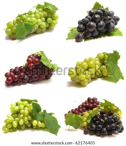 fruit graoe - stock photo