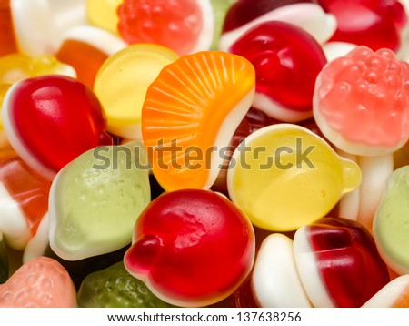 Fruit Jelly - stock photo