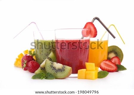 fruit juice - stock photo