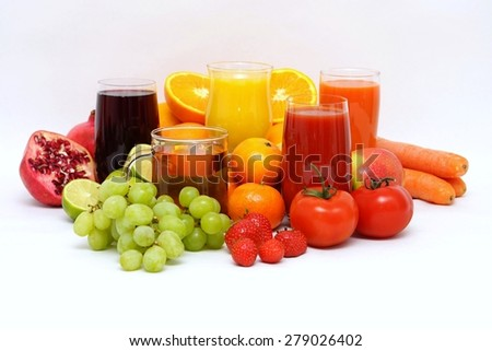 Fruit Juices - stock photo