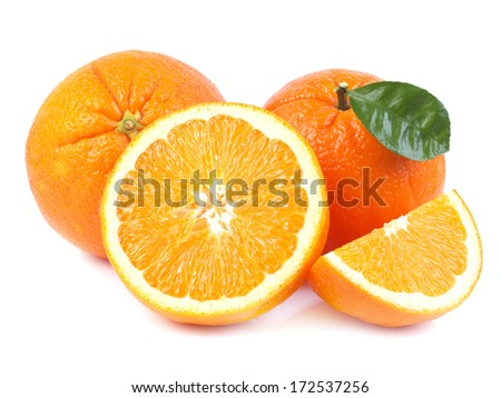 Fruit orange         - stock photo