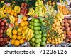 Fruit Stand in Italy - stock photo