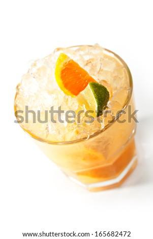 Fruit Vodka - stock photo
