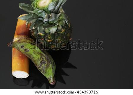 Fruit worship the gods - stock photo