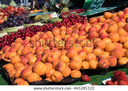 Fruits on the Market in Southern France, Provence