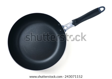 fry pan with clipping path