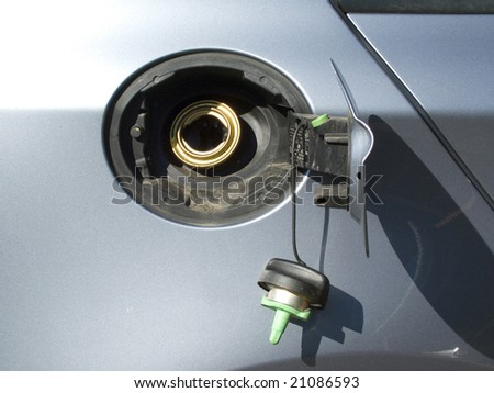 Fuel cap - stock photo