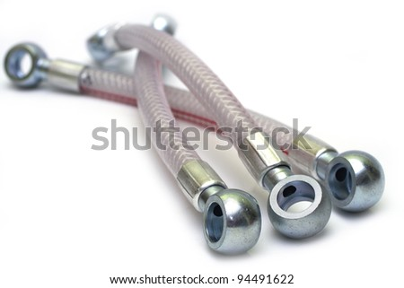 fuel hose - stock photo