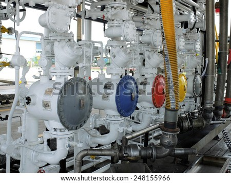 Fuel Loading System in Fuel Terminal, Thailand