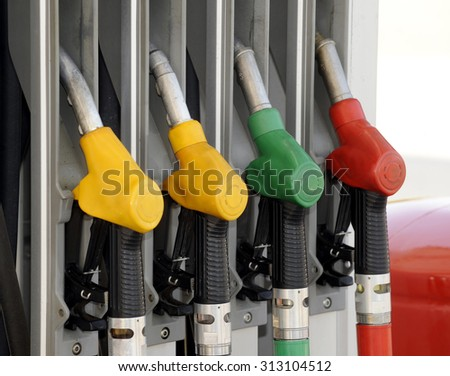 Fuel nozzle with hose