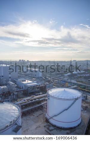 fuel storage - stock photo