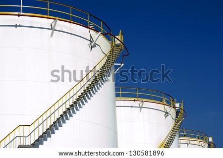 Fuel Storage Tank - stock photo