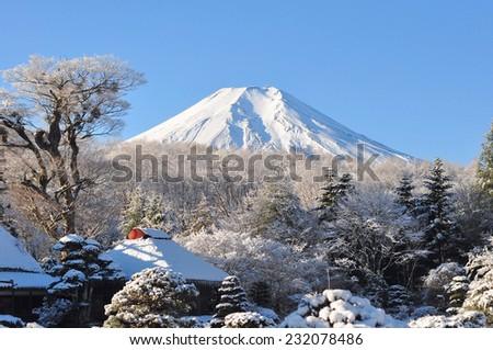 Fuji - stock photo
