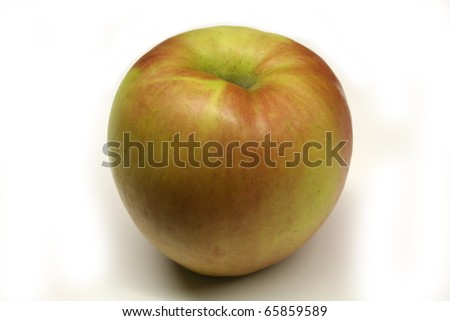Fuji Apple - stock photo