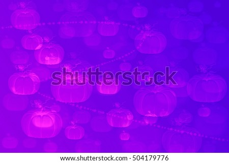 full color abstract background with pumkin concept.