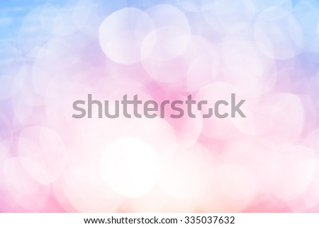 full colors lights bokeh glitter defocused abstract background - stock photo