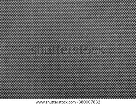 full frame abstract carbon webbing surface - stock photo