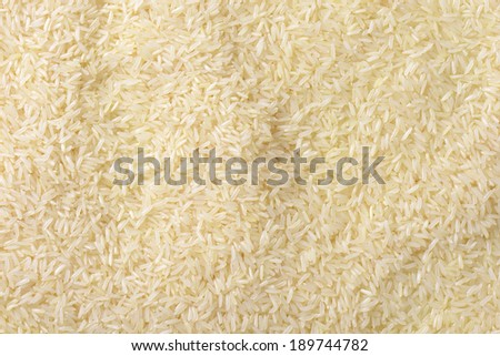 full frame of jasmine rice - stock photo