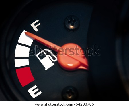 full fuel - stock photo