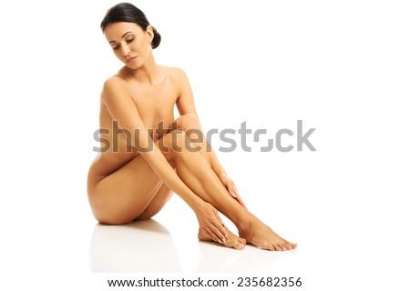 Speaking. Full length nude model that