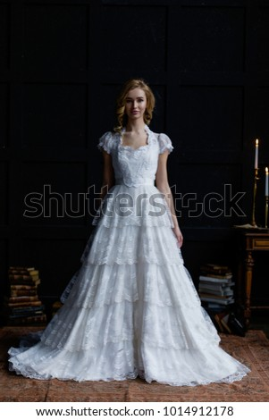 Full Length Portrait Gorgeous Young Woman Stock Photo & Image ...