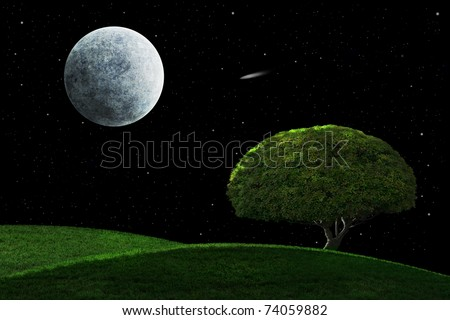 stock-photo-full-moon-and-shooting-star-shining-on-a-solitary-tree-74059882.jpg