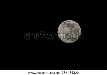 Full Moon in Tenerife Canary Islands Spain